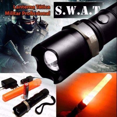 Lanterna Tática Militar SWAT